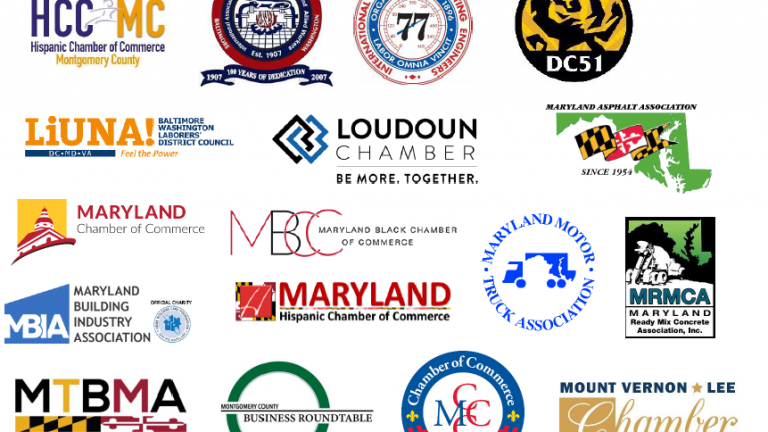 Featured Image for Diverse Coalition of 62 Organizations Voice Strong Support for Maryland Highway Project